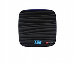 新品上架T98 安卓7.1 USB3.0 RK3328 1G8G四核4K安卓網絡TV BOX