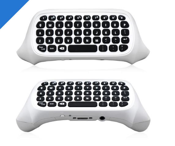 XBOX ONE Slim遊戲手柄鍵盤 ONE薄機藍牙遊戲手柄聊天 3
