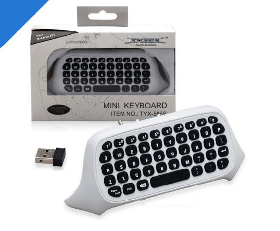 XBOX ONE Slim遊戲手柄鍵盤 ONE薄機藍牙遊戲手柄聊天 2