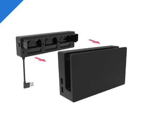 XBOX ONE X雙電池座充套裝 XBOX ONE Slim手柄雙充 17