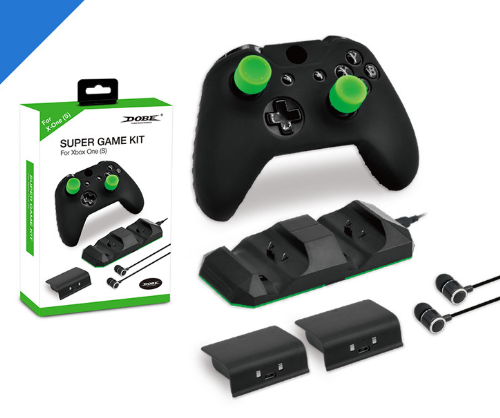 XBOX ONE X Dual Battery Charger Kit XBOX ONE Slim Controller Dual Charger 20
