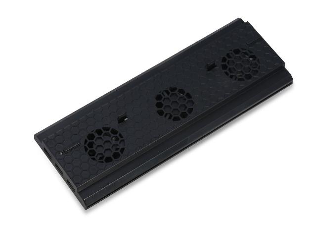 XBOX ONE X天蝎座散热碟架支架 XBOXONE X多功能底座风扇支架 10