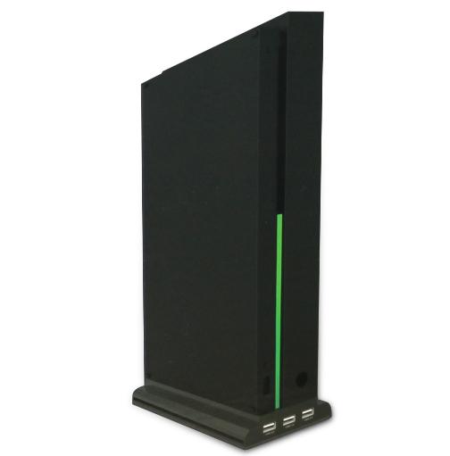 XBOX ONE X天蝎座散热碟架支架 XBOXONE X多功能底座风扇支架 12