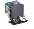 XBOX ONE X天蠍座主機支架 XBOXONE X簡易底座立式支架 16