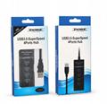 新款3.0 HUB接口 4in1 USB接口 ps4slimproxbox oneones通用 7