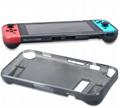新品Nintendo switch游戏主机水晶壳+蓝膜 NS游戏机保护盒套装 2