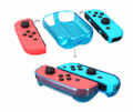 New Nintendo switch game console crystal case + blue filmNS game protection