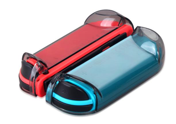 新品Nintendo switch游戏主机水晶壳+蓝膜 NS游戏机保护盒套装 11