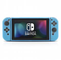 新品廠家任天堂Switch遊戲主機保護套TPU磨砂分體保護殼NS配件