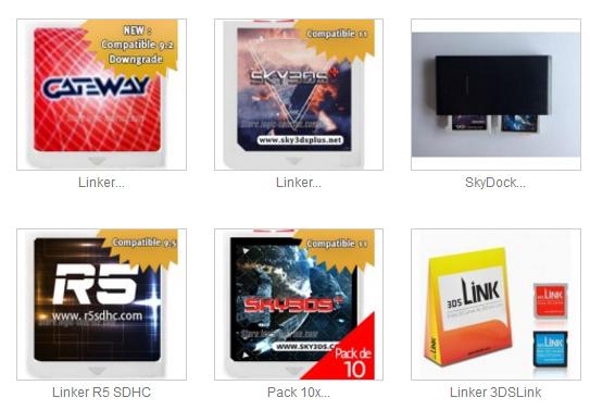 內存卡燒錄卡R4 3DSXLMAJ compatible3DS XL2DS  1