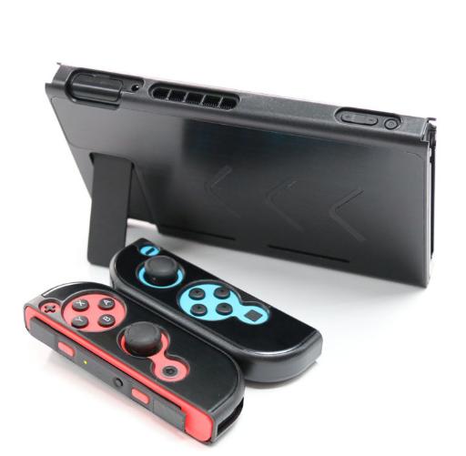 廠家直銷任天堂Switch金屬殼NS 主機手柄保護套 switch鋁殼 4