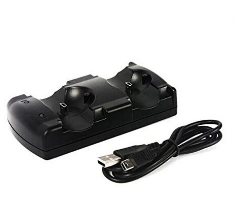 廠家直銷 三合一座充PS4 PS3 手柄PS3move充電器 手柄座充配件 1