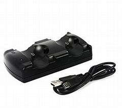 厂家直销 三合一座充PS4 PS3 手柄PS3move充电器 手柄座充配件
