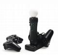 廠家直銷 三合一座充PS4 PS3 手柄PS3move充電器 手柄座充配件 7
