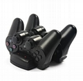 廠家直銷 三合一座充PS4 PS3 手柄PS3move充電器 手柄座充配件 12