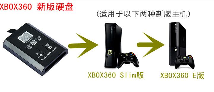 XBOX360slim薄機硬盤 XBOX360主機硬盤 500G 原裝全新西部數據盤 13