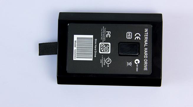 XBOX360slim薄機硬盤 XBOX360主機硬盤 500G 原裝全新西部數據盤 16