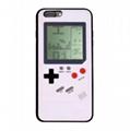 For Iphone 8 Plus Tetris Mobile Phone Case Game Machine SiliconeIphoneX6PlusSE