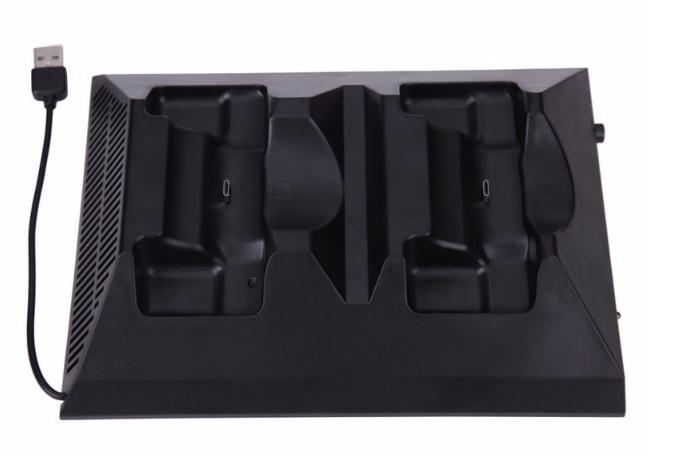 厂家直销PS4SLIM手柄双座充ps4slim无线手柄充电器TP4002S 3