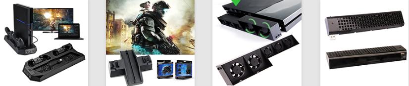 廠家直銷PS4SLIM手柄雙座充ps4slim無線手柄充電器TP4002S 19