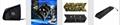 厂家直销PS4SLIM手柄双座充ps4slim无线手柄充电器TP4002S 20