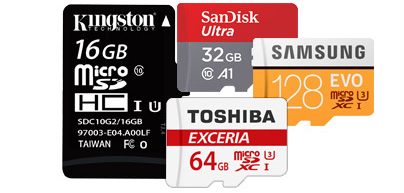 SanDisk Memory Card 32GB16gb microsd Flash TF Card SDXC with Card Adapter 3