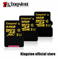 kingston Micro SD Card 32GB Class10 2gb/4gb/8gb/16GB/64GB/128GB/256gb tf card