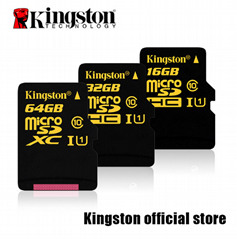 kingston Micro SD Card 32GB Class10 2gb/4gb/8gb/16GB/64GB/128GB/256gb tf card  (Hot Product - 1*)