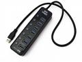 USB 3.0 HUB Super Speed External 7 Port
