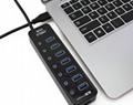 新款3.0 HUB接口 4in1 USB接口 ps4slimproxbox oneones通用 4