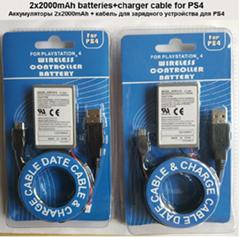 PS4手柄电池PS4无线手柄内置电池2000mAh