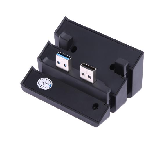 PS4 slimPRO 5合一 HUB集线器 USB转换器 3.0接口扩展器 3