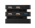 5 Ports USB Hub 3.0 for PS4 Pro Console