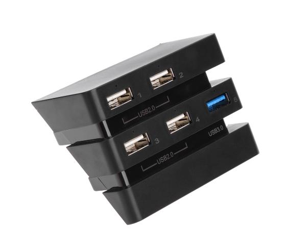 PS4 slimPRO 5合一 HUB集线器 USB转换器 3.0接口扩展器 2