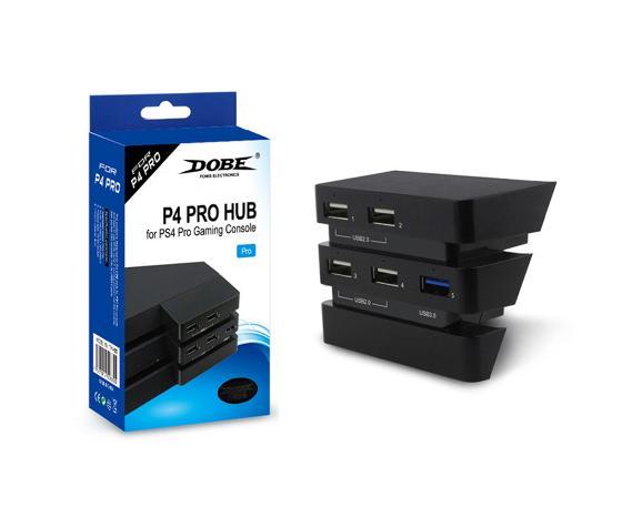 PS4 slimPRO 5合一 HUB集线器 USB转换器 3.0接口扩展器 15