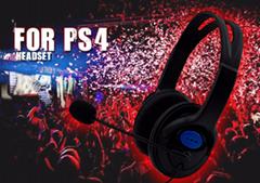 厂家直销最新款PS4游戏耳机 头戴式耳机 时尚美观 价格优惠