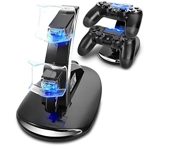 PS4迷你雙充 PS4手柄雙充 PS4座充 PS4手柄充電器 PS4充電器 1