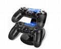 PS4迷你雙充 PS4手柄雙充 PS4座充 PS4手柄充電器 PS4充電器 2