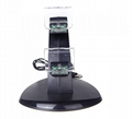 LED Dual USB Charging Cradle Docking StationGaming Controller PS4 Pro Slim 6