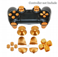 New  Thumbstick Grip with L2 R2 Extended Trigger Button Kit For PS4 Controller