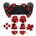 工廠批發拇指手柄與L2 R2擴展觸發按鈕套件PS4控制器 5