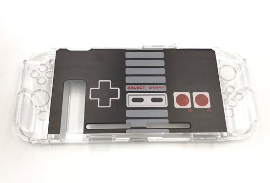 任天堂switch保護套透明水晶殼 NS手柄套分體主機外殼硬 NS配件 2