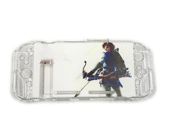 任天堂switch保护套透明水晶壳 NS手柄套分体主机外壳硬 NS配件 3