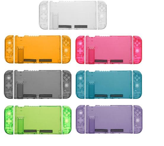 全新保護殼新設計任天堂開關綠色超薄橡膠硬殼蓋 1