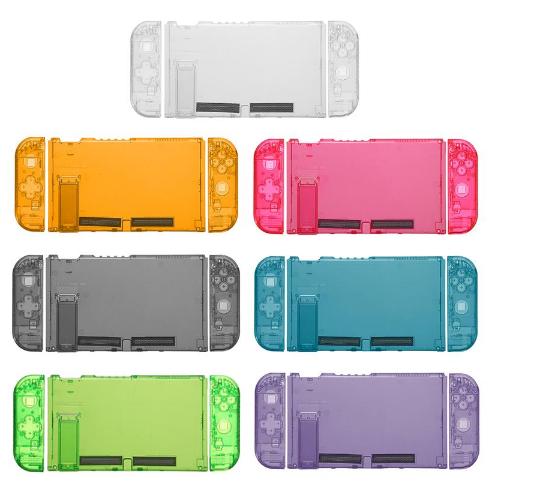 全新保護殼新設計任天堂開關綠色超薄橡膠硬殼蓋 6