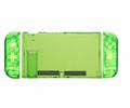 全新保護殼新設計任天堂開關綠色超薄橡膠硬殼蓋 17