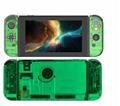 全新保護殼新設計任天堂開關綠色超薄橡膠硬殼蓋 19