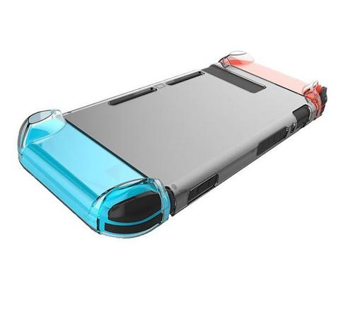 任天堂SWITCH主機硅膠保護套 NS主機藍光高清膜NX遊戲機2合一裝 4