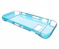 任天堂SWITCH主機硅膠保護套 NS主機藍光高清膜NX遊戲機2合一裝 3