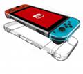 任天堂SWITCH主机硅胶保护套 NS主机蓝光高清膜NX游戏机2合一装 2